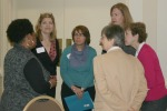 Meet and greet at the networking workshop