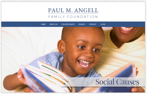 Home page of Paul M. Angell Family Foundation
