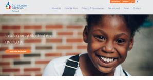 Home page of Community in Schools Richmond