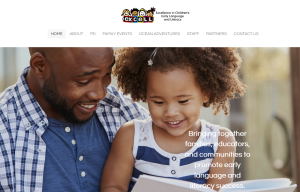 Home page of ExCELL Excellence in Children's Early Language and Literacy