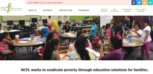 Home page of National Center for Families Learning (NCFL)